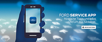 Ford Service App Smartphone